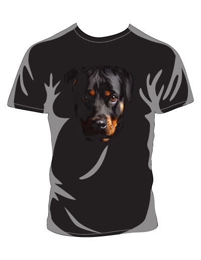 Rotweiler Black shirt